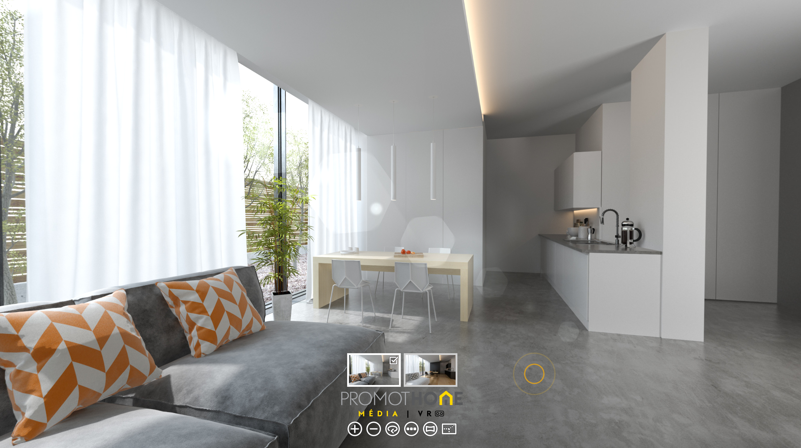 Choix des prestations et ambiances d'un logement neuf